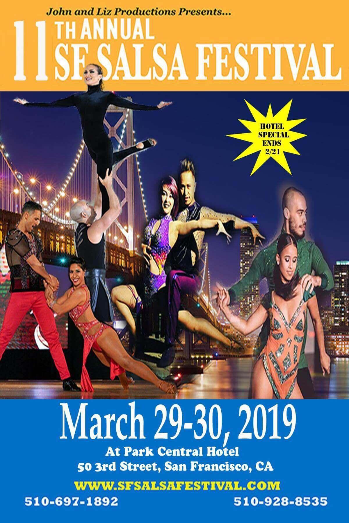 SF Festival 2019 flyer